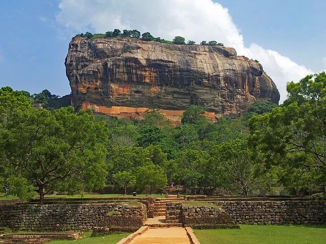Tajomstvá starobylej pevnosti Sigiriya