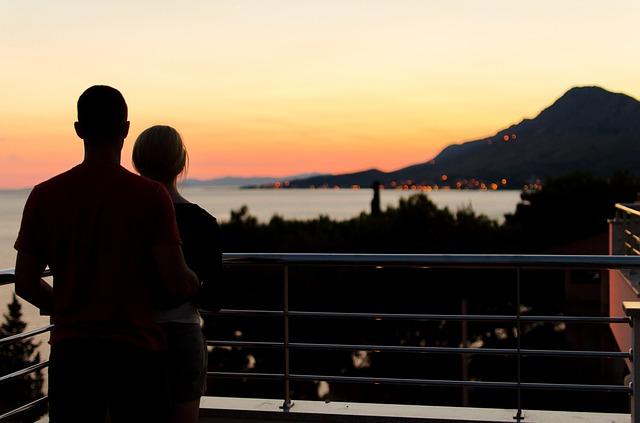 romantika na balkoně