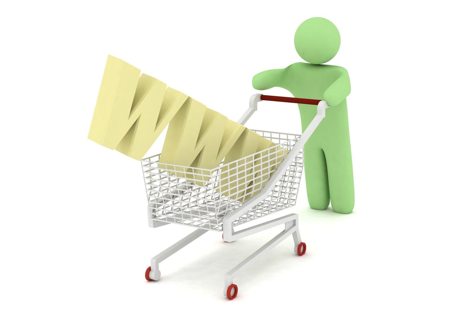 nákupný košík. WWW